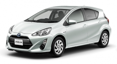 Коврики EVA Toyota Aqua (2011-2014)